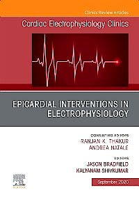 Portada del libro 9780323722780 Epicardial Interventions in Electrophysiology (An Issue of Cardiac Electrophysiology Clinics) POD