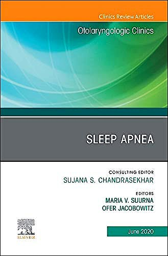 Portada del libro 9780323732901 Sleep Apnea (An Issue of Otolaryngologic Clinics)
