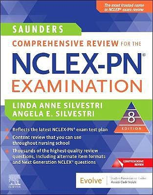Portada del libro 9780323733052 Saunders Comprehensive Review for the NCLEX-PN® Examination