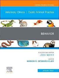 Portada del libro 9780323733472 Behavior (An Issue of Veterinary Clinics. Exotic Animal Practice)