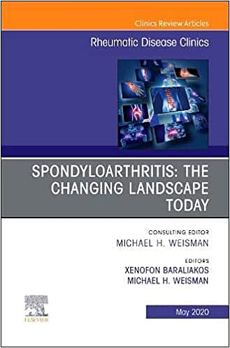 Portada del libro 9780323733779 Spondyloarthritis. The Changing Landscape Today (An Issue of Rheumatic Disease Clinics)