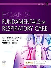 Portada del libro 9780323749527 Egan's Fundamentals of Respiratory Care