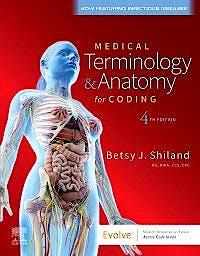 Portada del libro 9780323749572 Medical Terminology & Anatomy for Coding