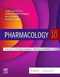 Portada del libro 9780323749596 Pharmacology. A Patient-Centered Nursing Process Approach