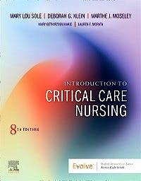 Portada del libro 9780323749732 Introduction to Critical Care Nursing