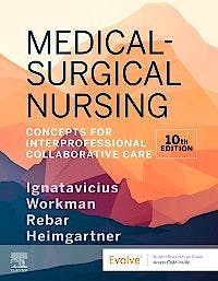 Portada del libro 9780323749787 Medical-Surgical Nursing. Concepts for Interprofessional Collaborative Care, (2 Volume Set)