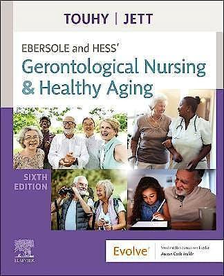 Portada del libro 9780323751643 Ebersole and Hess' Gerontological Nursing & Healthy Aging