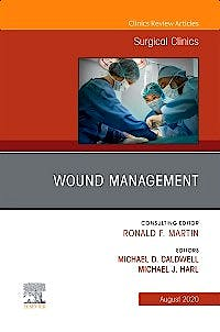 Portada del libro 9780323754941 Wound Management (An Issue of Surgical Clinics) POD