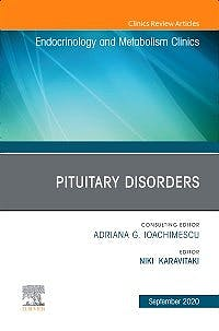 Portada del libro 9780323755023 Pituitary Disorders (An Issue of Endocrinology and Metabolism Clinics)