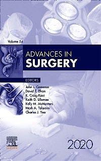 Portada del libro 9780323755238 Advances in Surgery. POD
