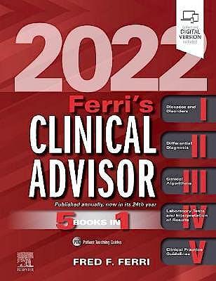 Portada del libro 9780323755702 Ferri's Clinical Advisor 2022