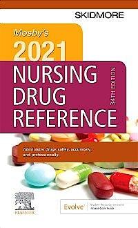 Portada del libro 9780323757331 Mosby's 2021 Nursing Drug Reference