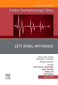 Portada del libro 9780323758437 Left Atrial Appendage (An Issue of Cardiac Electrophysiology Clinics)