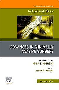 Portada del libro 9780323759090 Advances in Minimally Invasive Surgery (An issue of Foot and Ankle Clinics)