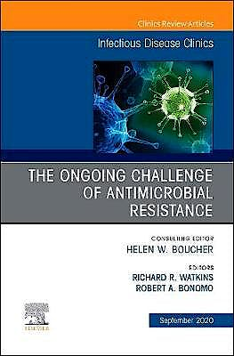 Portada del libro 9780323759434 The Ongoing Challenge of Antimicrobial Resistance (An Issue of Infectious Disease Clinics)