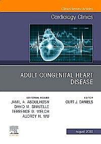 Portada del libro 9780323761208 Adult Congenital Heart Disease (An Issue of Cardiology Clinics)