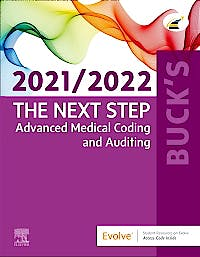 Portada del libro 9780323762779 Buck's The Next Step: Advanced Medical Coding and Auditing 2021/2022 Edition