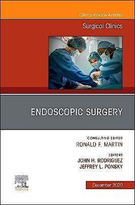 Portada del libro 9780323763103 Endoscopic Surgery (An Issue of Surgical Clinics)