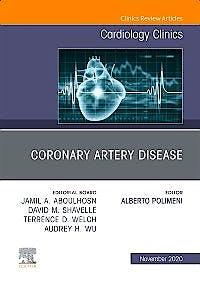 Portada del libro 9780323777094 Coronary Artery Disease (An Issue of Cardiology Clinics)