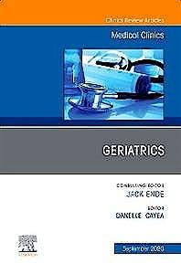 Portada del libro 9780323777223 Geriatrics (An Issue of Medical Clinics)
