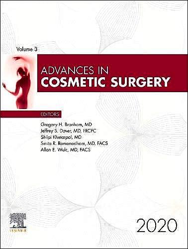 Portada del libro 9780323778282 Advances in Cosmetic Surgery. Volume 3-1