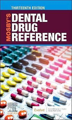 Portada del libro 9780323779364 Mosby's Dental Drug Reference