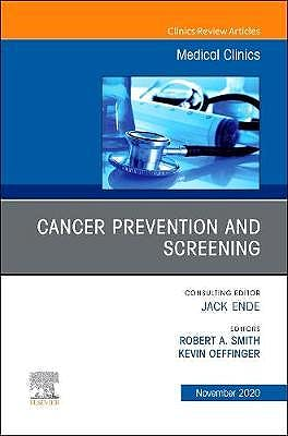 Portada del libro 9780323789530 Update in Cancer Screening (An Issue of Medical Clinics)