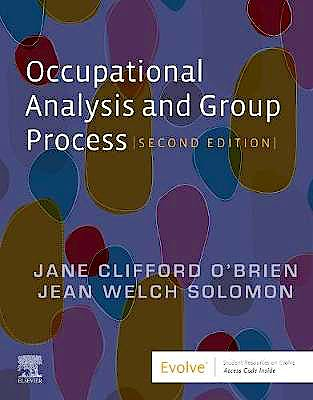 Portada del libro 9780323793674 Occupational Analysis and Group Process