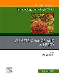 Portada del libro 9780323793858 Climate Change and Allergy (An Issue of Immunology and Allergy Clinics)