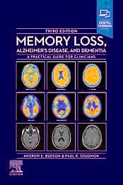 Portada del libro 9780323795449 Memory Loss, Alzheimer's Disease and Dementia. A Practical Guide for Clinicians