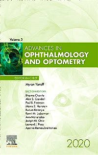 Portada del libro 9780323812993 Advances in Ophthalmology and Optometry (POD)