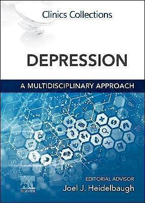 Portada del libro 9780323848626 Depression. A Multidisciplinary Approach. Clinics Collections