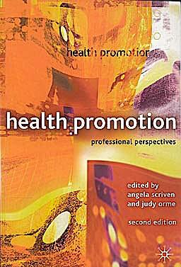 Portada del libro 9780333948347 Health Promotion. Professional Perspectives