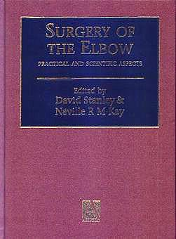 Portada del libro 9780340598054 Surgery of the Elbow: Practical and Scientific Aspects