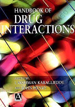 Portada del libro 9780340662045 Handbook of Drug Interactions
