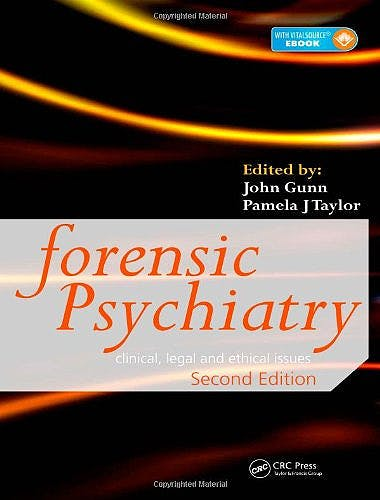 Portada del libro 9780340806289 Forensic Psychiatry. Clinical, Legal and Ethical Issues