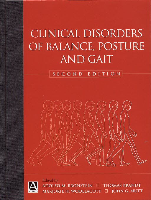 Portada del libro 9780340806579 Clinical Disorders of Balance, Posture and Gait