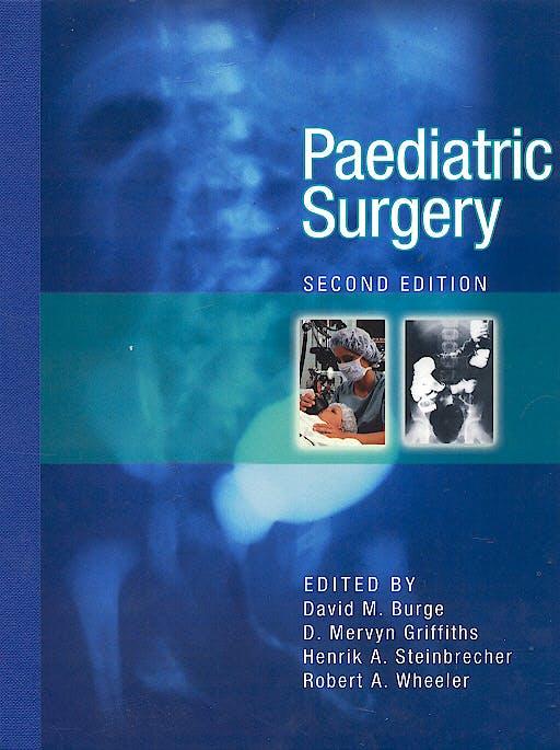 Portada del libro 9780340809105 Paediatric Surgery