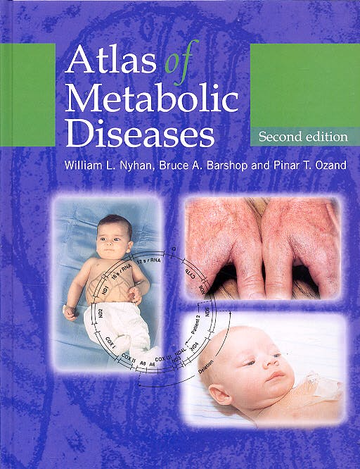 Portada del libro 9780340809709 Atlas of Metabolic Diseases