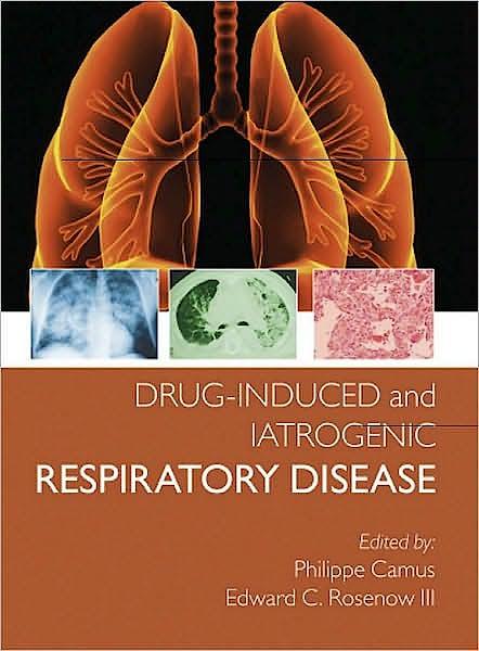 Portada del libro 9780340809730 Drug-Induced and Iatrogenic Respiratory Disease