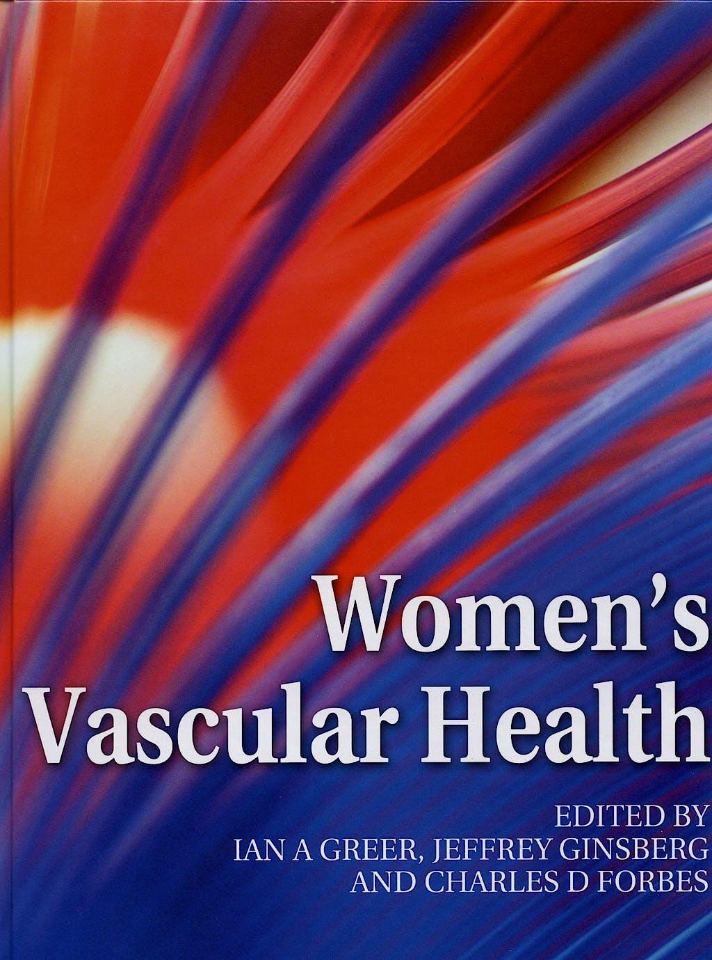 Portada del libro 9780340809976 Women's Vascular Health