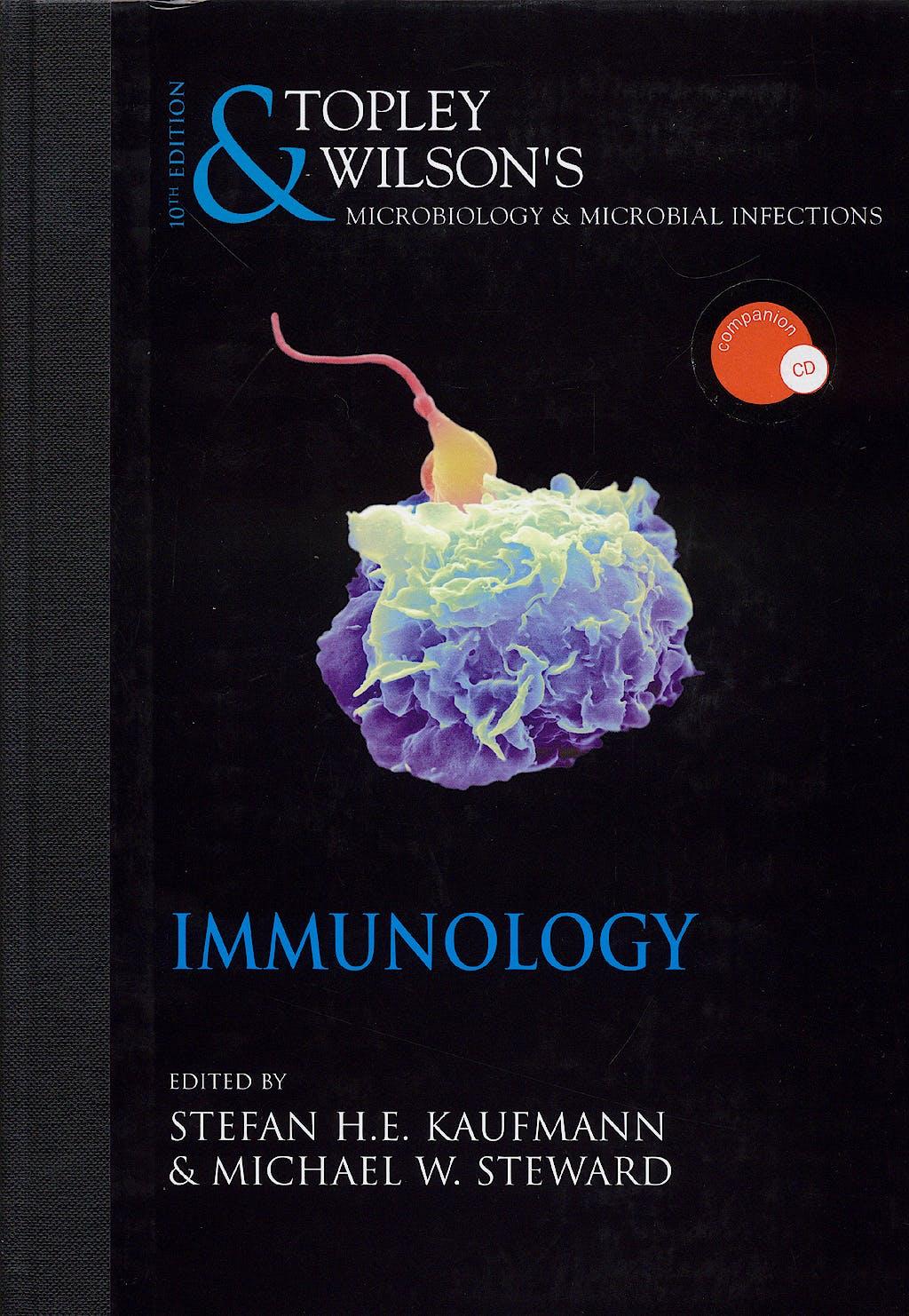 Portada del libro 9780340885697 Topley and Wilson. Inmunology