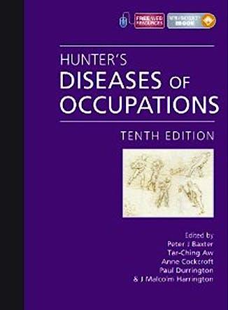 Portada del libro 9780340941669 Hunter's Diseases of Occupations