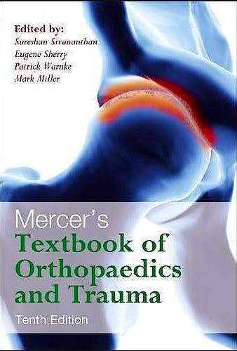 Portada del libro 9780340942031 Mercer's Textbook of Orthopaedics and Trauma