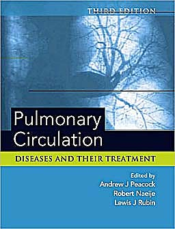 Portada del libro 9780340981924 Pulmonary Circulation. Diseases and Their Treatment