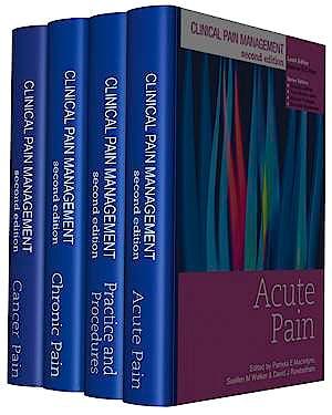 Portada del libro 9780340982808 Clinical Pain Management - 4 Volume Set
