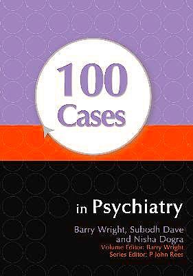Portada del libro 9780340986011 100 Cases in Psychiatry