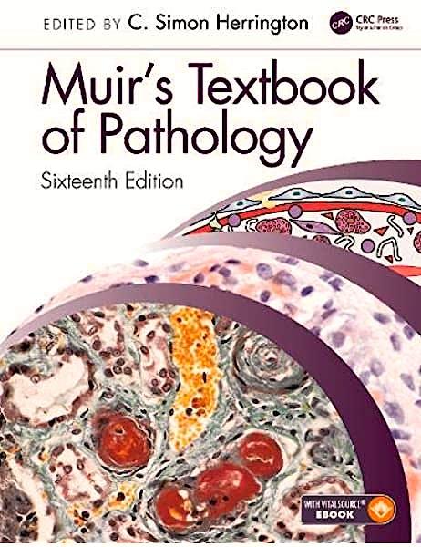 Portada del libro 9780367146719 Muir's Textbook of Pathology (Book + E-Book)