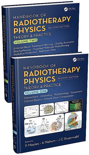Portada del libro 9780367192075 Handbook of Radiotherapy Physics. Theory and Practice (2 Volume Set)