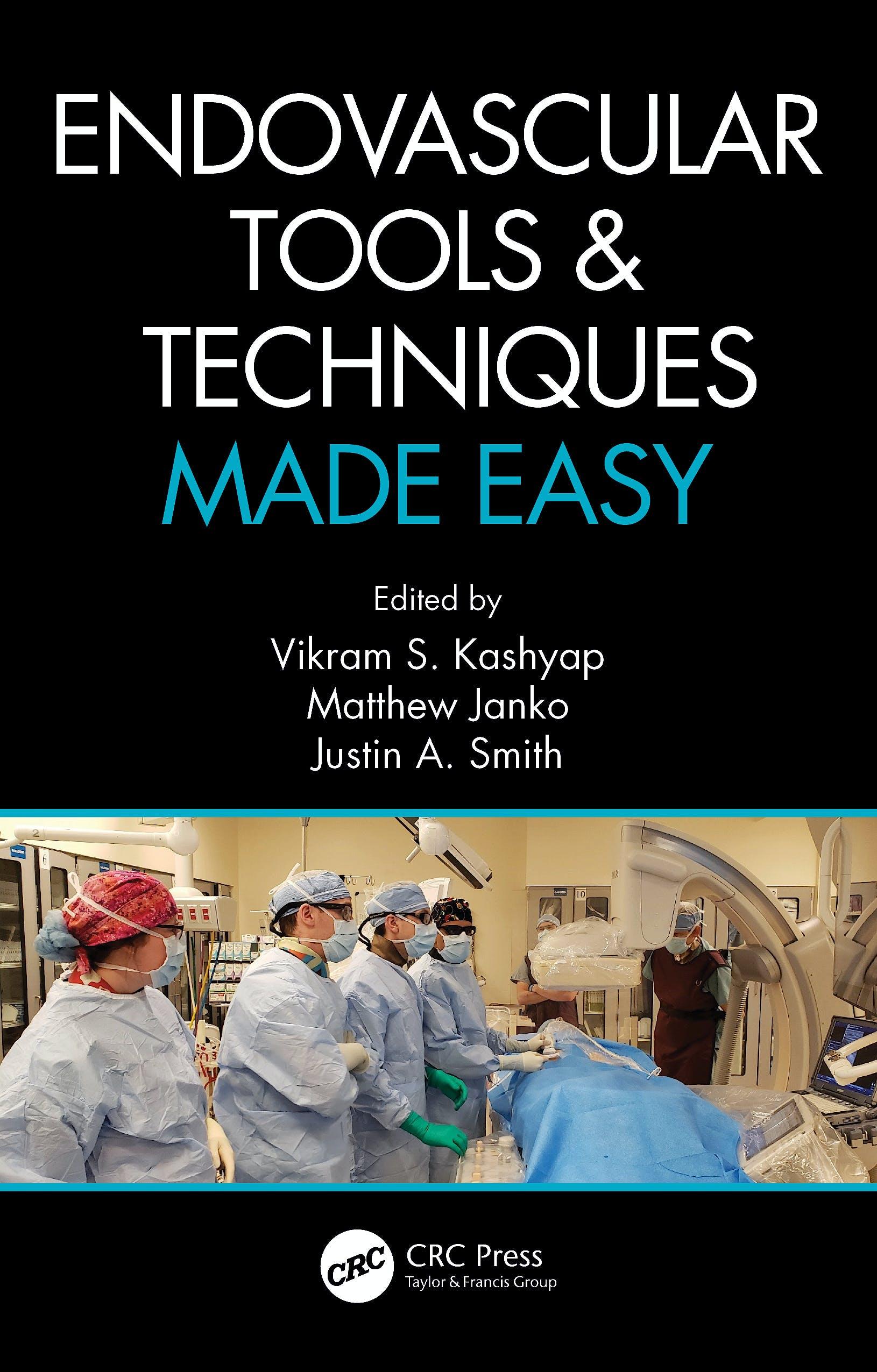Portada del libro 9780367262426 Endovascular Tools and Techniques Made Easy